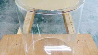 【オーダーメイド アクリル円柱水槽】直径40cm