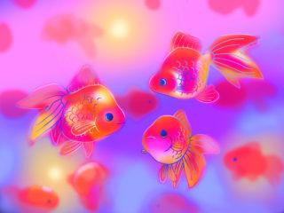 アートアクアリウムと金魚の関係