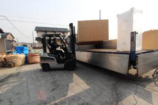 オーダーメイド水槽・水槽台の搬入と設置について