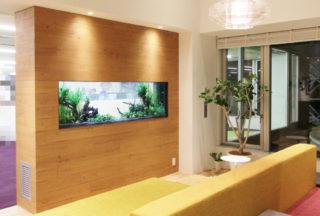【写真で紹介】部屋を彩る 水槽のあるインテリア