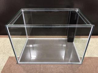 【オーダーメイドガラス水槽】ワームプロテクト付き水槽