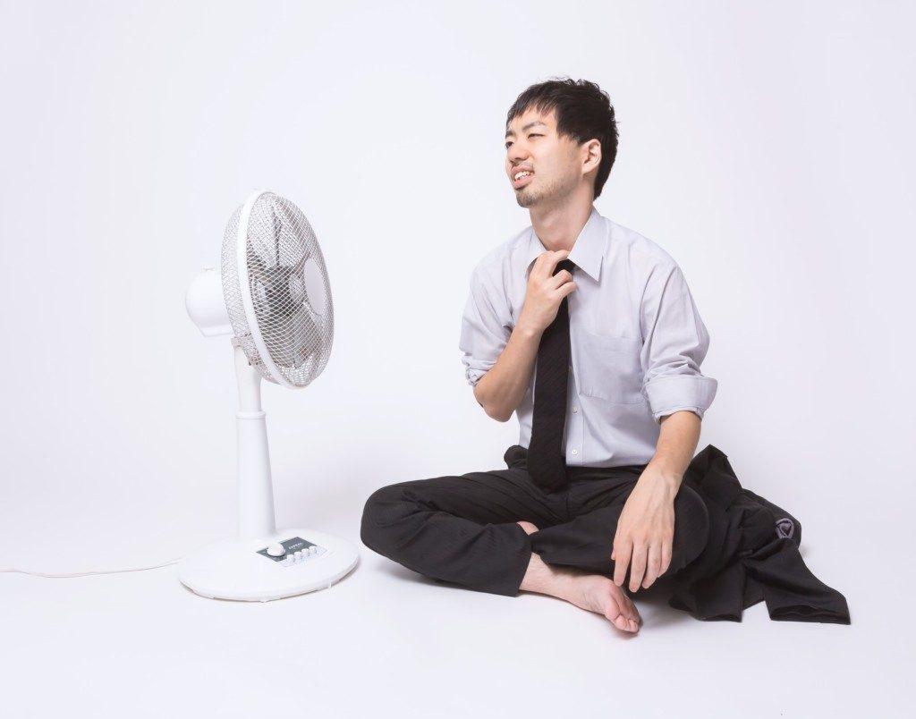 扇風機 夏 エアコン 経済的 水槽の温度管理 ウーパールーパー