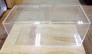 【オーダーメイドアクリル水槽】天板くり抜き加工の100㎝水槽