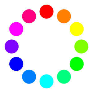 補色の例(RGBの場合)