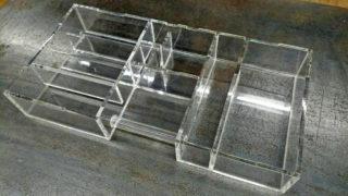 【オーダーメイド水槽】アクリル製 特殊仕切り水槽