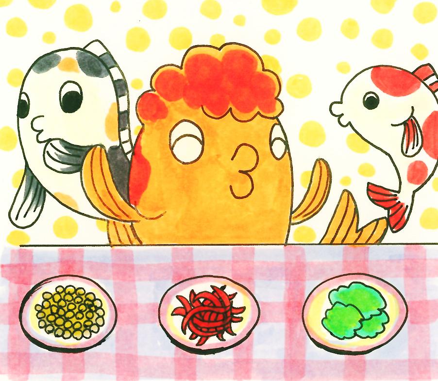 【プロが教える】金魚の餌は何が良いのか!?赤虫?ドライフード?コケ?
