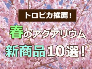 トロピカ推薦!春のアクアリウム新商品10選!気になるメーカー品を紹介