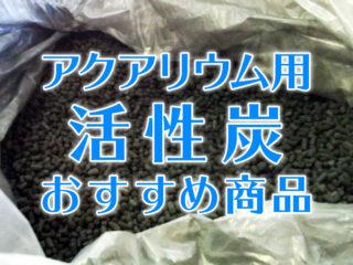 活性炭のベスト15!アクアリウム用活性炭のおすすめ商品をまとめました